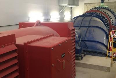 photos : Centrale hydro électrique