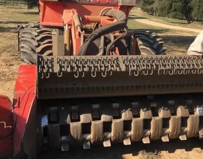 photos : Tracteur broyeur