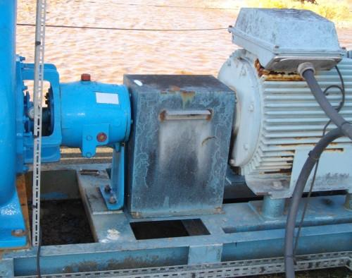 Interventions Eval : Contrôle vibratoire après alignement groupe moteur pompe